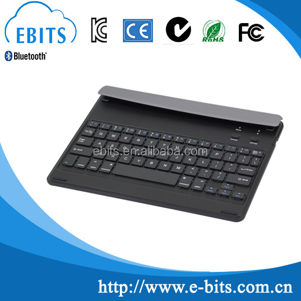 Best quality keyboard 360 degree rotate wireless bluetooth keyboard case for ipad air