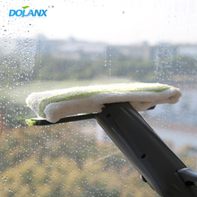 DL17051 window washing squeegee tool kit with spray bottle,washable microfiber pad and silicone rubber blade