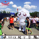 Inflatable moving cartoon, advertising inflatable cartoon character, inflatable event mascot
