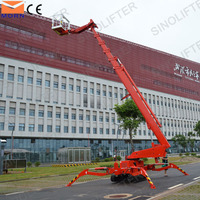 CE certification crawler spider boom lift for sale