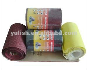sand paper roll abrasive paper roll