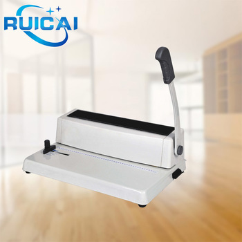 Cheaper Price Desktop Plastic Coil Binding Machine