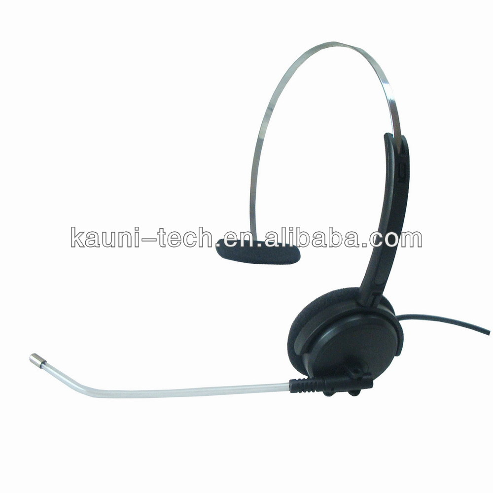 High quality call center usb headset with clear voice tube, OEM/ODM