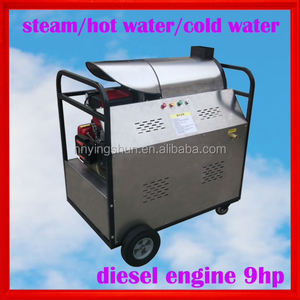 Diesel Hot water/Cold water/Steam cleaning type multifunctional industrial clean services