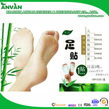 OEM factory Detox Aroma rose foot patch with CE FDA