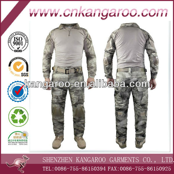 Military Camo Close-fitting Tactical Combat Suit