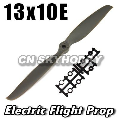 13*10E RC airplane wooden Electric Flight propeller