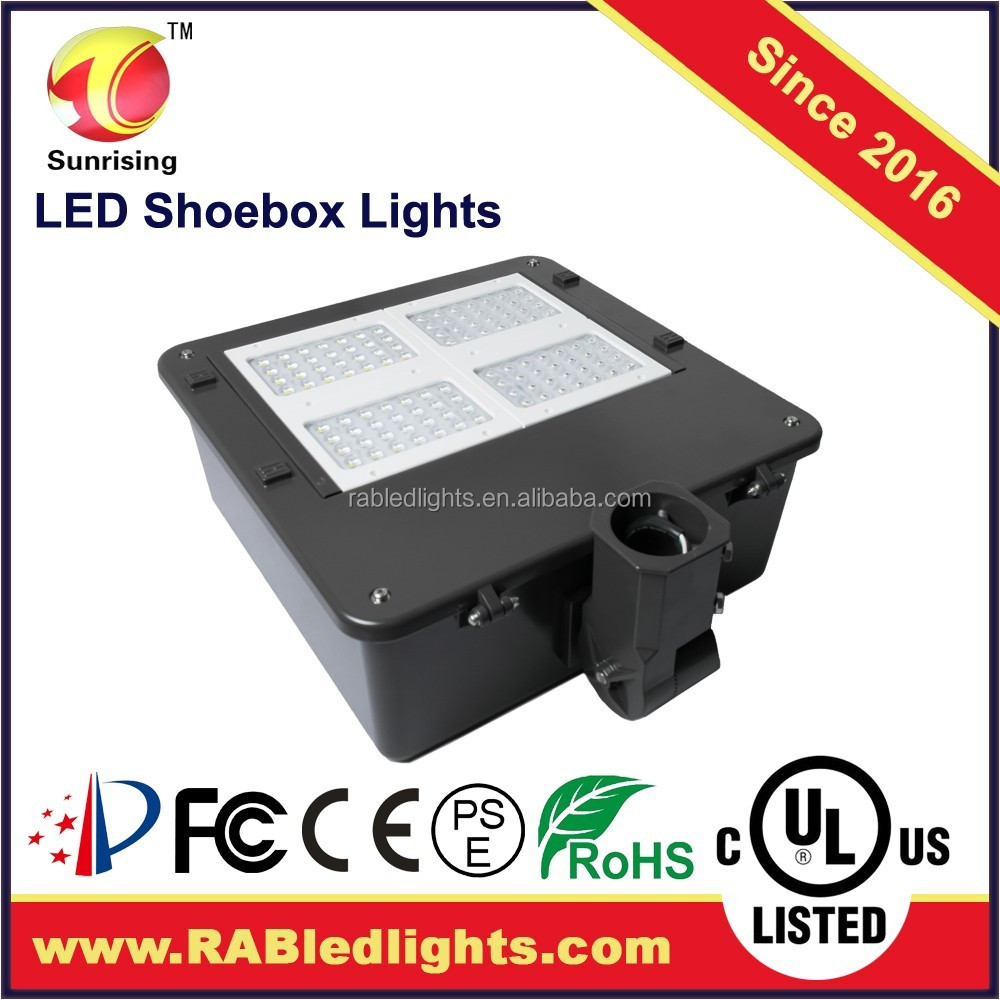 XY Gas Station 200W Street Light Pole Parts led shoebox light for street/highway