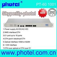 16E1 2 STM-1 SDH Add Drop Multiplexer 1+1 optical protection