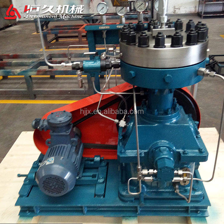 industrial electrical heavy duty air biogas compressor machine