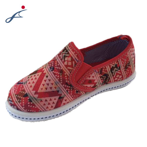 Wholesale Hot Selling Cotton Fabric Lining Baby Child Shoes With Super Quality