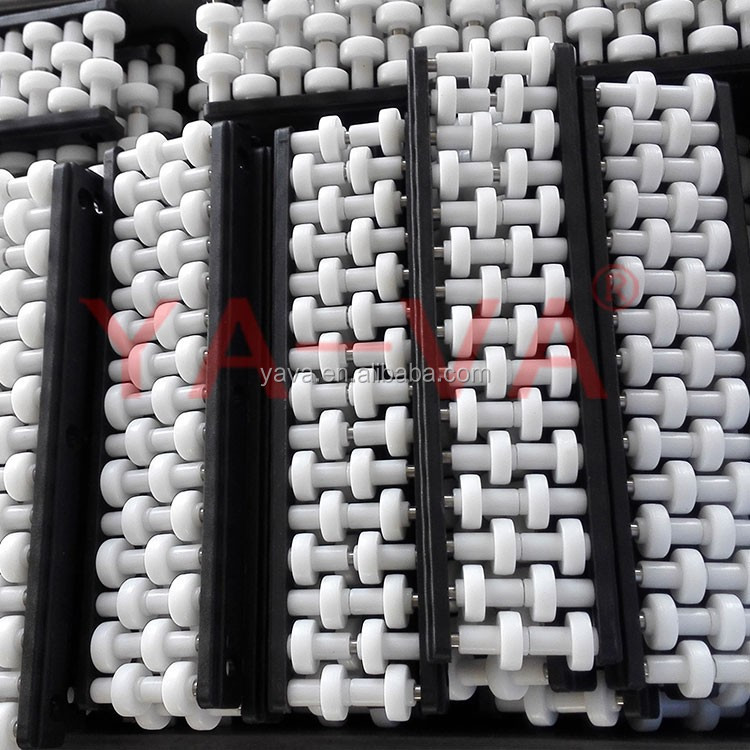 Conveyor roller side guard / Chain guide for conveyor
