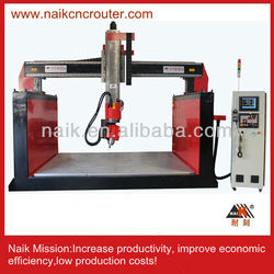 cnc router 5 axis for styrofoam/wood/resin/foam /stone /plastic/aluminumTC-2015