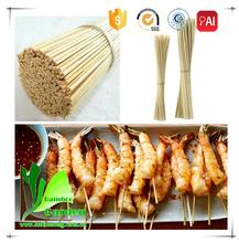 Disposable Round Chicken Bamboo Skewers For Spiral Potatoes