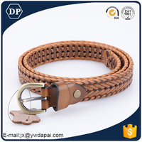 China New Product Genuine Leather Woven Belt Making Supplies