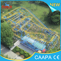 Changda 5 Cars 20 Seats 320M Track Big Roller Coaster Spinning Coaster For Sale