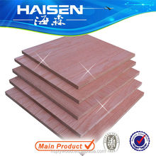 17mm two sides red oak mdf export to dubai UAE