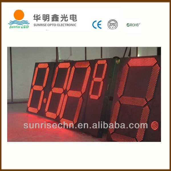 "electronics 2014 new product p6 led bar graph display phot video 32"" 36"" 48'' 60'' 72'' giant gas price sign good price"