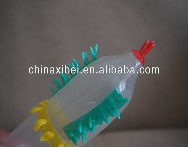 adlut products male silicone spike condom with high quality and competitive price