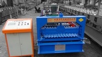 dixin Corrugated Tile Steel Roof Cold Roll forming machine
