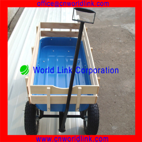 High Quality 1801T Kids Mobile Beach Wooden Buggy Wagon