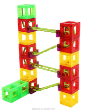 35 pcs magnetick roller coaster magnetic blocks For Children Abs MAG-COASTER