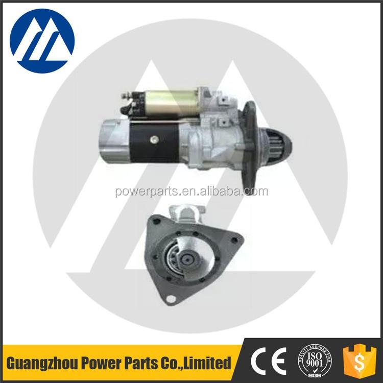 Hot sale excavator engine 6d105 starting motor pc200 3 for Starter motor for sale