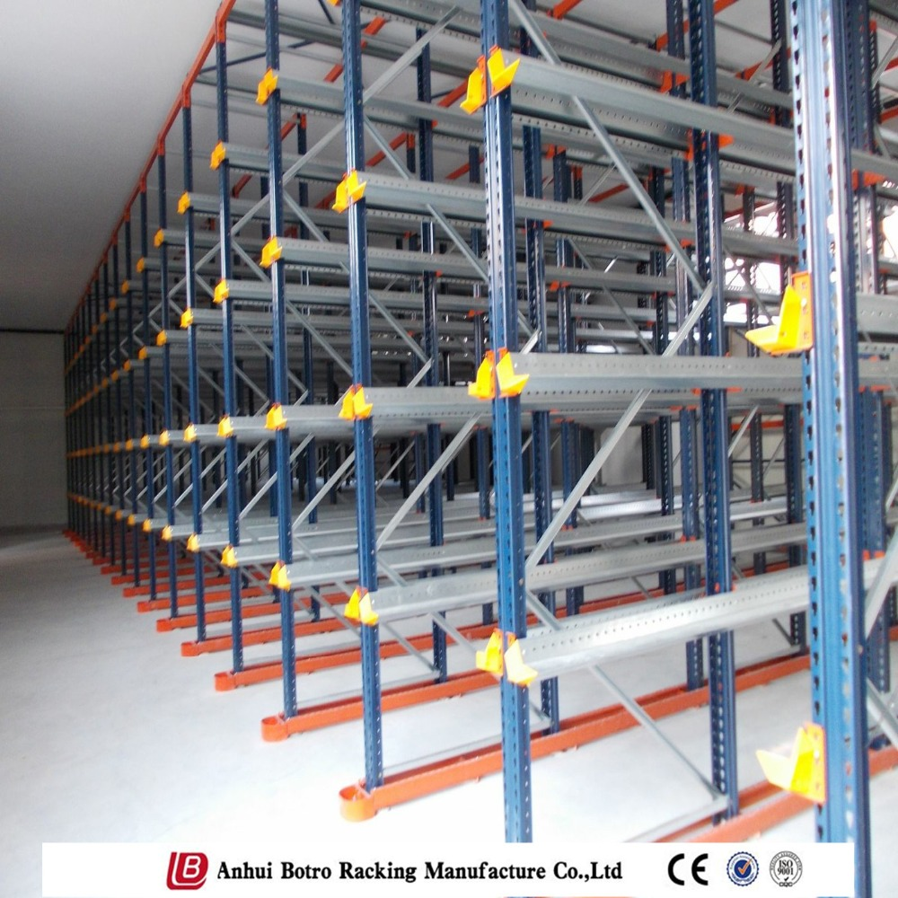 China Nanjing Botro Industrial High Density Drive Thru Racking System