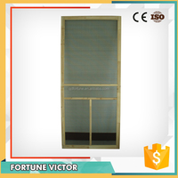 sapeli flush door with design and louver