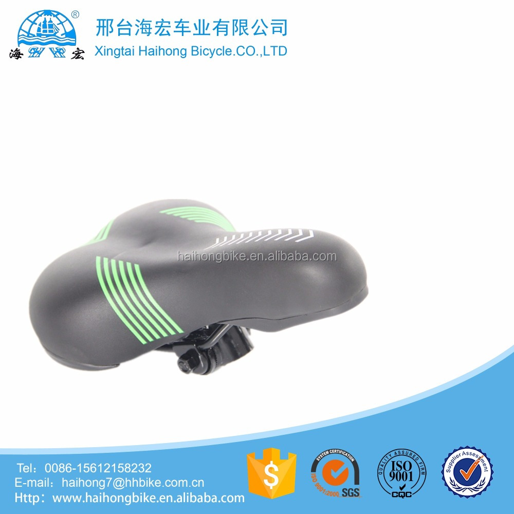 China good quality leather cover ebike bicycle saddle/electric velociped seat