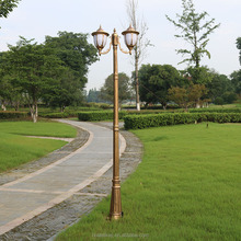 3.5 meter Cast-die aluminum Landscape decoration lamp pole for garden,street