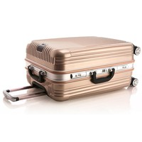 Gold luxury president luggage for air plane