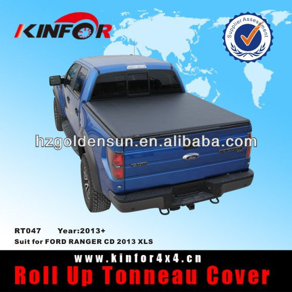 Soft Vinyl Roll up Tonneau Cover for FORD RANGER CD 2013 XLS