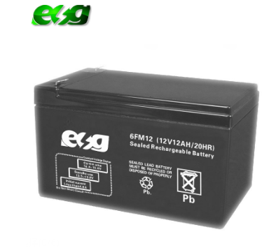 Rechargeable solar energy storage 12v12ah battery