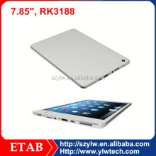 7.85 Inch RK3188 quad core IPS1024*768 touch screen,quad core tablet pc