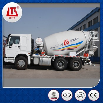 China New HOWO Transit Mixer Truck 9m3 ISO9001/BV/CCC Approved