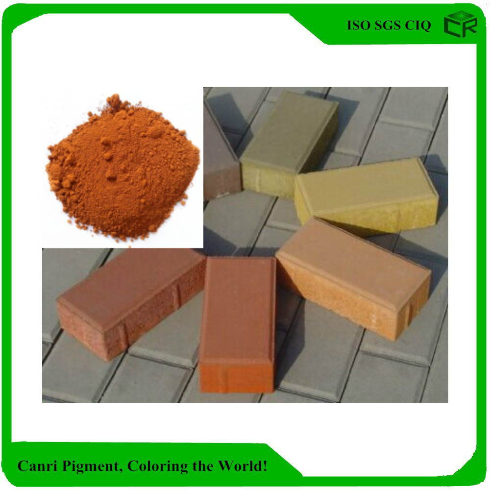 orange coloring Iron Oxide Orange for brick tile coating concrete cement orange pigment
