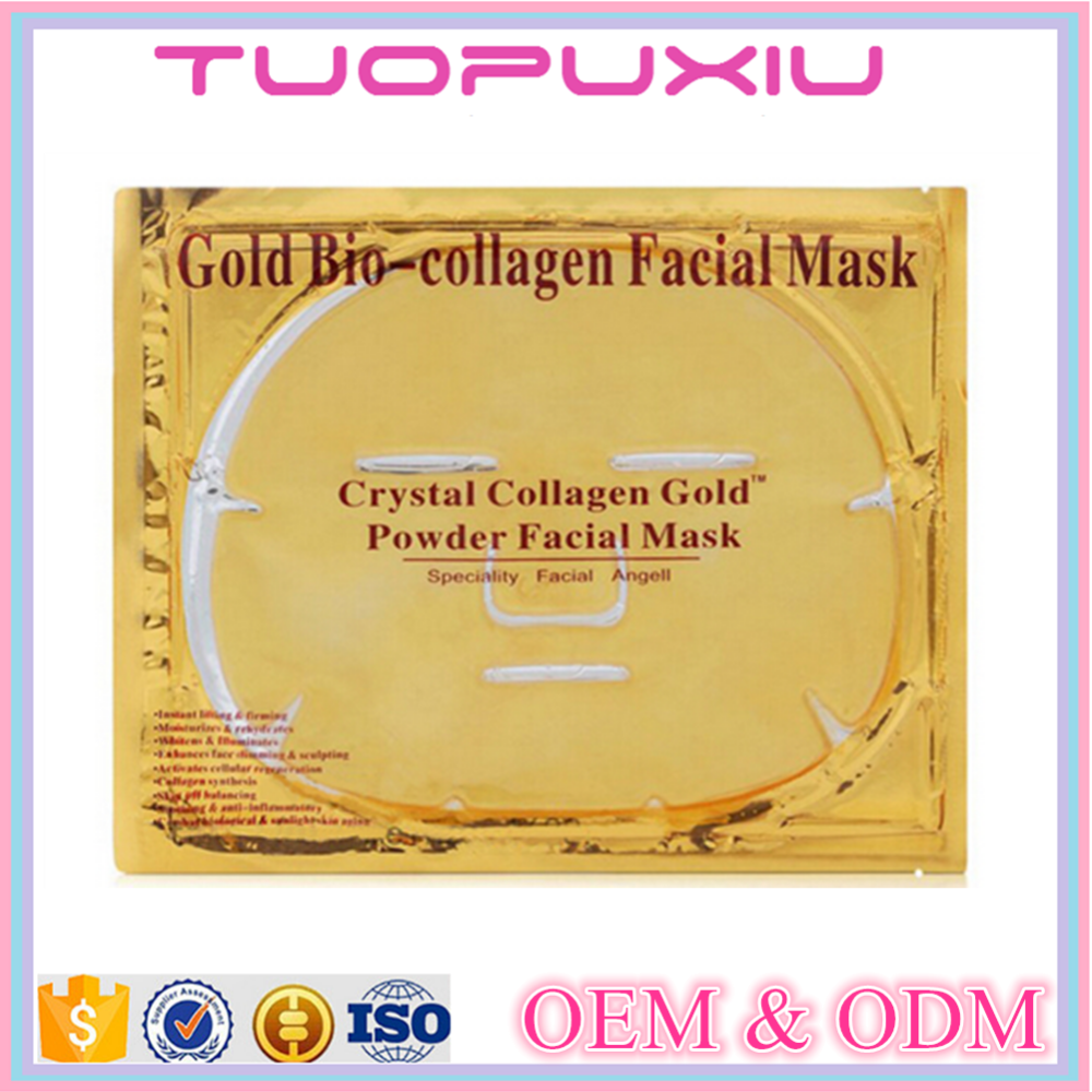 24k gold skin lifting mask collagen facial mask