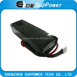 High rate 30C constant discharge rate rc lipo battery 2015 wholesale 18.5v 5200mah litihum polymer battery from China