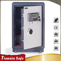 ABS material handle bank fireproof digital safe deposit box