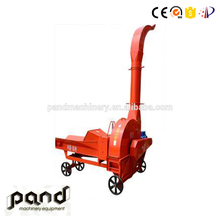 Agriculture farm ensilage cutter cutting machine electric hay grass cut machine dry grass shredder