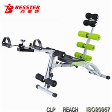 BEST JS-060SC SIX PACK CARE PRO new machinery production products abdominal machine sports fitness equipment china clean bench