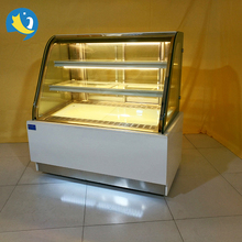 Competitive price luxury bakery display counter showcase pastry commercial cake refrigerator showcase