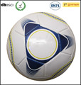 Machine stitched PVC soccer ball, official size and weight