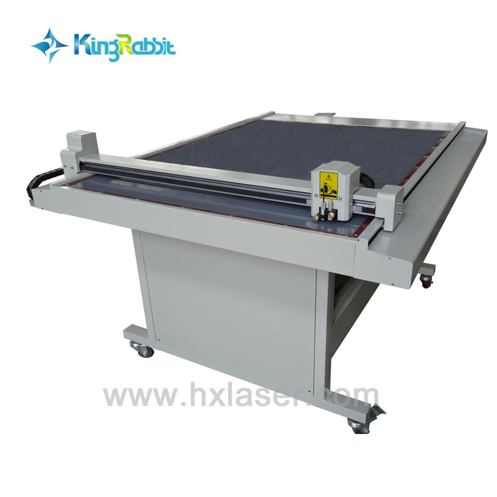 the flatbed cutter HC-1215 used to garment pattern drawing and cutting