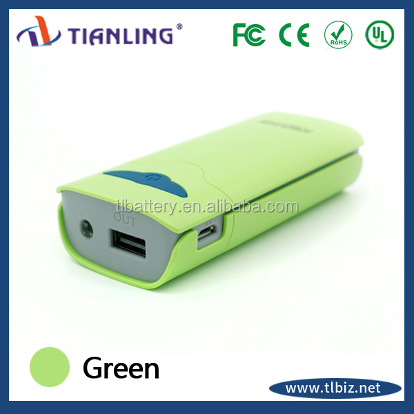latest product OEM smartphone charger power bank 6000mAh QC pass