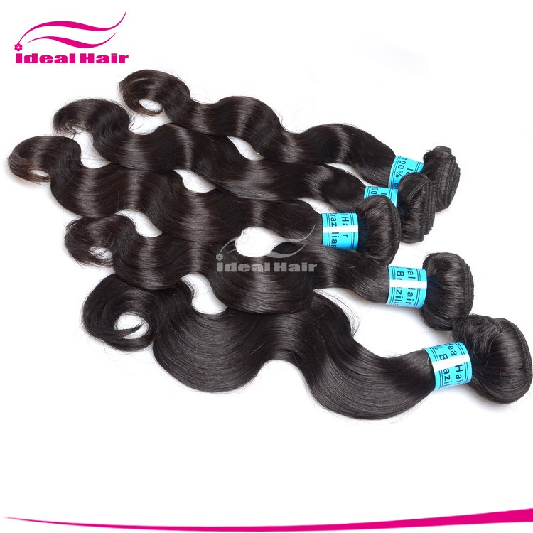 hot beauty hair products brazilian hair body wave unprocessed virgin human hair extension