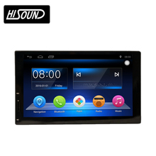 2din Slim type 7inch touch screen car audio video entertainment navigation system