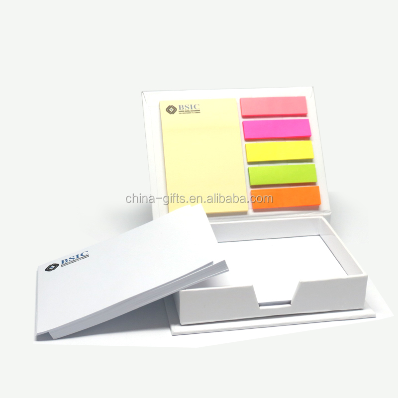 hard cover box with memo pad