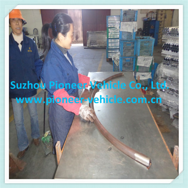 flexible steel tube/360 degree bend pipe